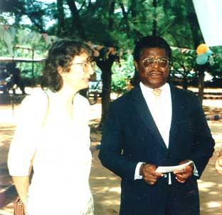 Dr. and Mrs. E.O. Omanukwue (founders)